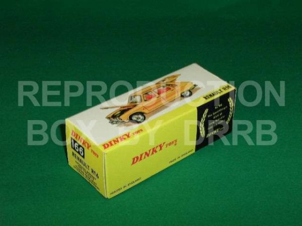 Dinky #166 Renault R16 - Reproduction Box